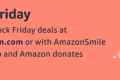 Amazon smile charity banner